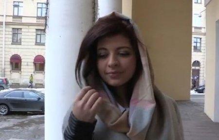 Опытный пикап мастер развёл на кастинг русскую девушку с улицы