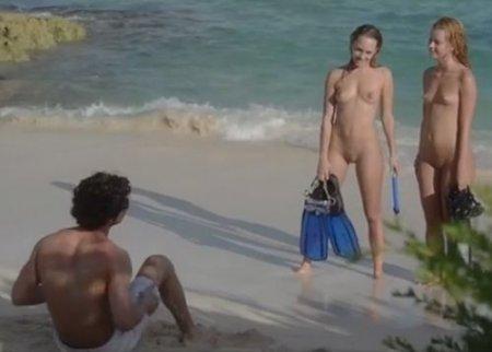 Случайная встреча с двумя голыми девушками на пляже привела к жмж