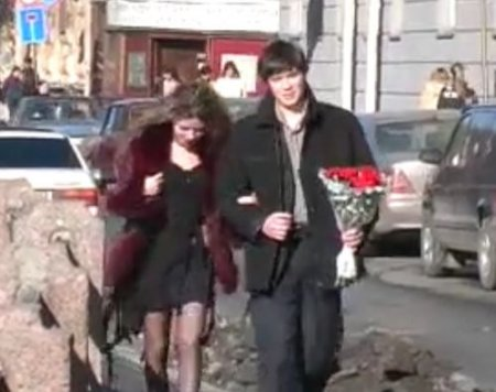 Молодые русские молодожены на домашней ебле новобрачных свингеров