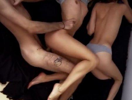 Секс с видом сверху - необычный и очень редкий ракурс в порно