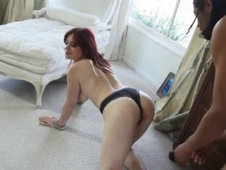 Белой падчерице секс с новым черным отчимом пришёлся по душе