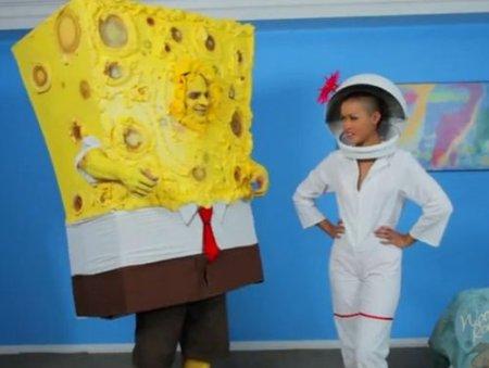 Губка Боб квадратные штаны дал в рот белке Sandy - Spongebob XXX